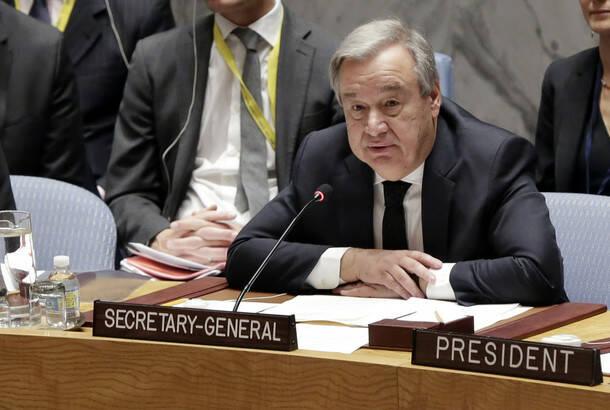 Gutereš: Svet se suočava sa egzistencijalnim pretnjama