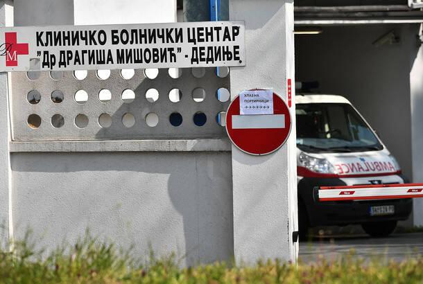 Zamenik direktora KC Dragiša Mišović: Situacija krajnje nepovoljna, pacijenti oboleli i nakon druge doze vakcine