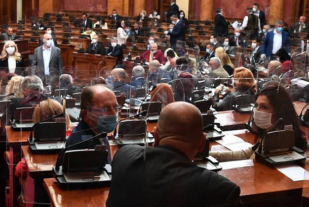 Skupština usvojila četiri zakona iz oblasti energetike, najavljeno okretanje ka zelenoj ekonomiji