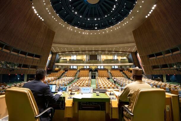 Sednica SB UN nakratko prekinuta zbog kosovske zastave; Selaković: Srbija spremna za dijalog, ne za ultimatum