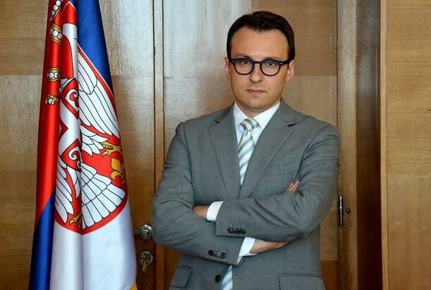 Petković: Izjave kosovske ministarke političko nasilje i kršenje sporazuma Beograda i Prištine