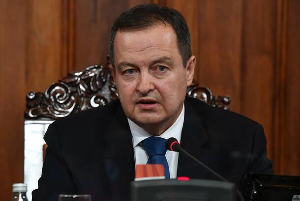 Dačić: Sve stranke nisu još poslale svoju platformu za međustranački dijalog