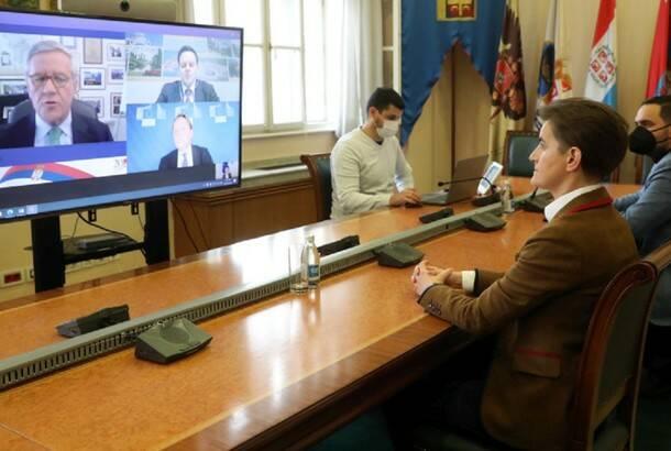 Brnabić i Varheji: Članstvo u EU znači dugoročni mir i prosperitet
