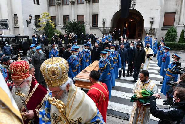 Stefanović: Neosnovane kritike zbog angažovanja Vojske prilikom sahrane patrijarha SPC