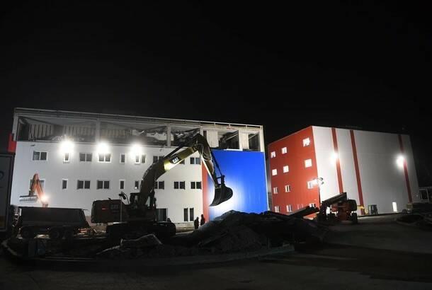 Pri kraju radovi na novoj kovid bolnici u Beogradu, prvi pacijenti za sedam dana