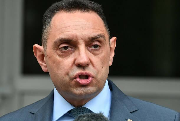 Ministar Vulin: Kokeza odbio poligraf, saslušan u svojstvu građanina
