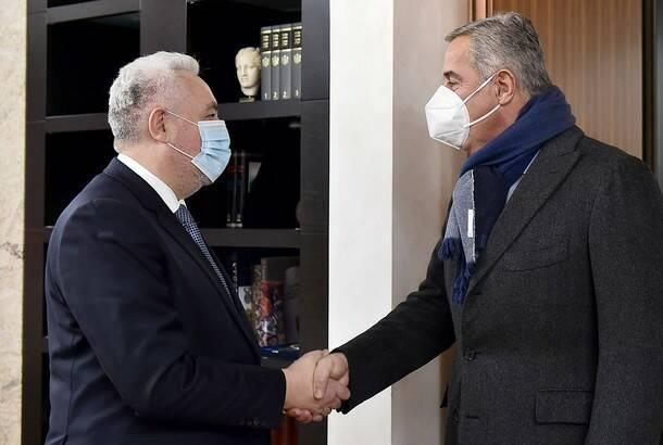 Krivokapić razgovarao sa Đukanovićem o uslovima za kohabitaciju