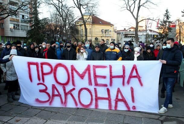 U Nišu na novom protestu zatražene oštrije kazne za bahatost u saobraćaju