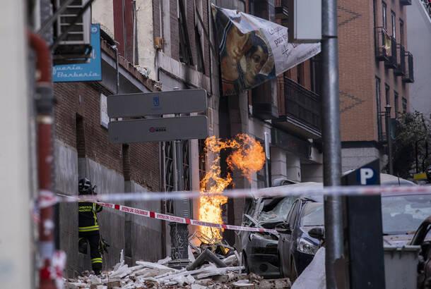 Snažna eksplozija u zgradi u centru Madrida, dve osobe poginule