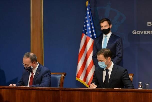 Siniša Mali i Entoni Godfri potpisali sporazum o podsticanju investicija u Srbiji