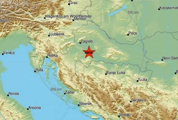 Novi zemljotres na području Petrinje