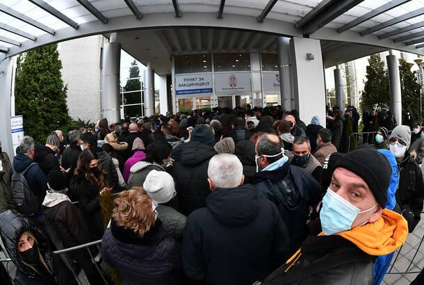 Vlada Srbije: Od sutra vakcinisanje isključivo onih građana koji imaju zakazane termine