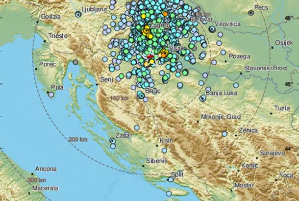 Novi zemljotres na području Hrvatske, epicentar kod Gline