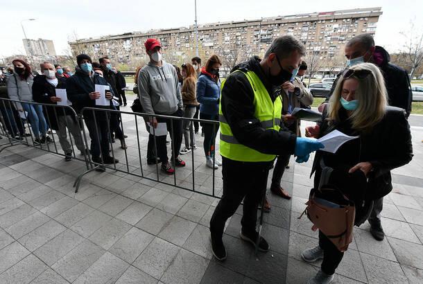 U Srbiji još 34 žrtve koronavirusa, 2.583 novozaražene osobe