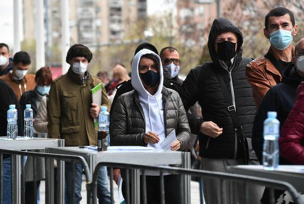 Kovid19: U Srbiji u poslednja 24 časa još 2.069 novozaraženih, preminulo 37 obolelih