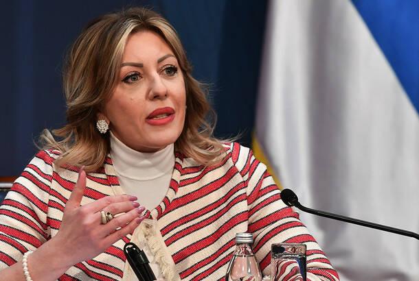 Sednica Koordinacionog tela za proces pristupanja Srbije EU: Jadranka Joksimović glavni pregovarač