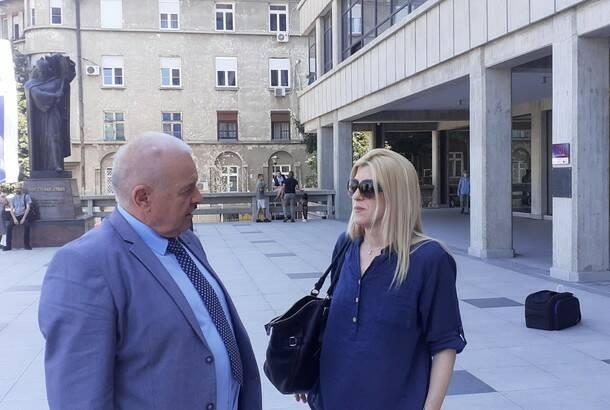 Počelo suđenje za pretnje Jeleni Zorić: Snimci izbrisani istog dana kada ih je tužilaštvo tražilo