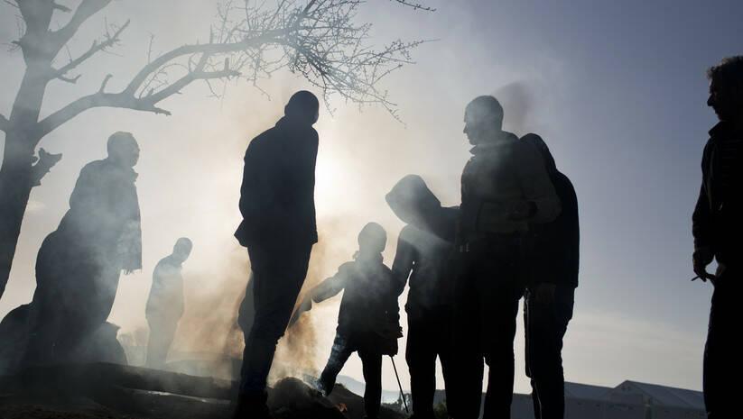(Beta/AP Photo/Petros Giannakouris: Izbeglice