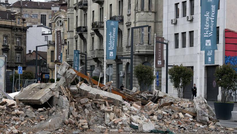 Фото: Срђан Илић / Рушевине у Херцеговачкој