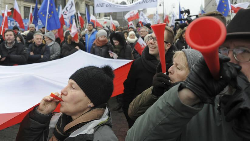 Alik Keplicz: Protesti u Poljskoj