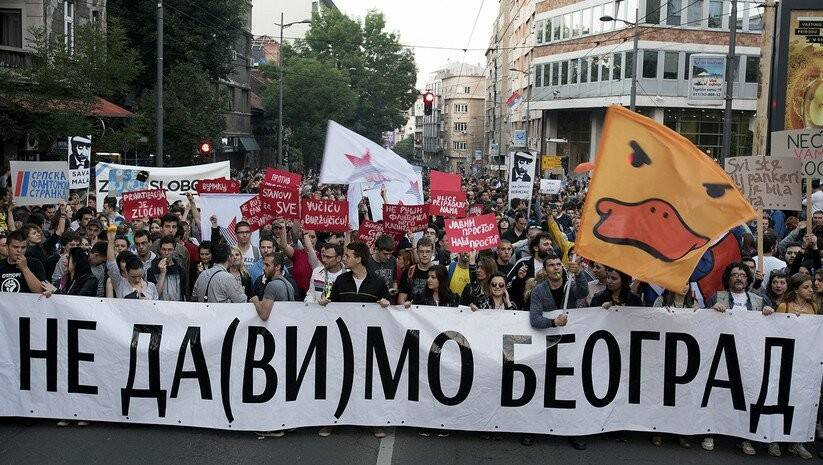 Srdjan Ilic: Protests against Belgrade Waterfront Project
