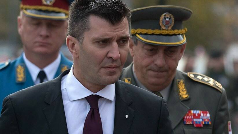 Srdjan Ilic: Current Defense Minister Zoran Djordjevic