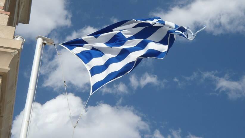 Izvor: pixabay.com: Grčka zastava
