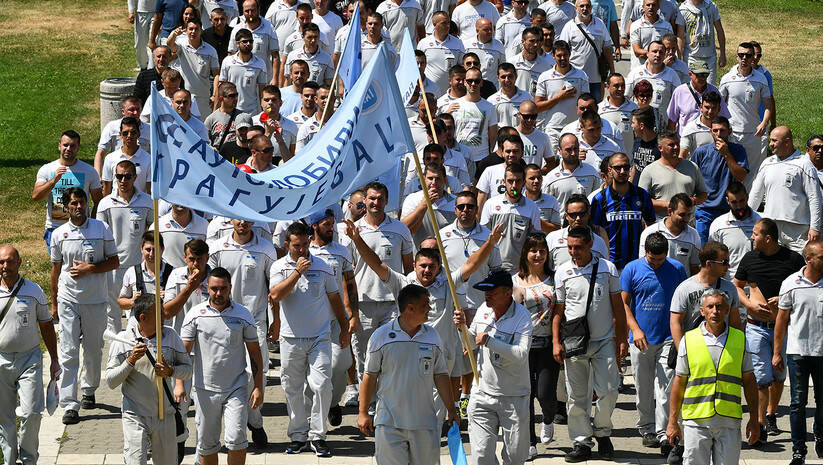 Sržan Ilić: Štrajk radnika u Fijatu