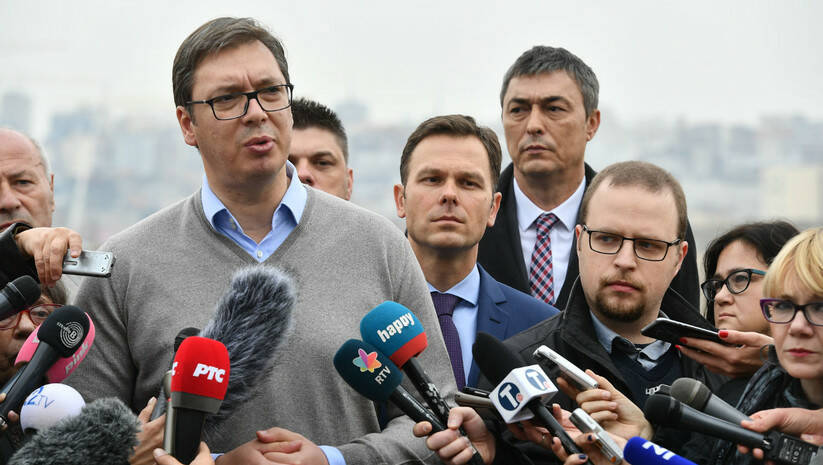Srđan Ilić: Aleksandar Vučić
