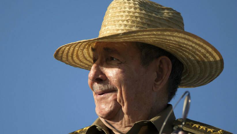 AP Photo/Desmond Boylan: Raul Kastro