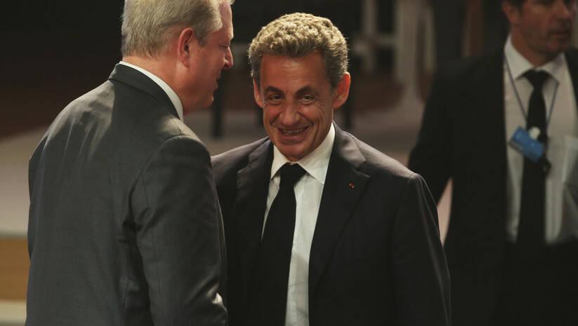 Jon Gambrell: Nikolas Sarkozi (AP Photo/Jon Gambrell)