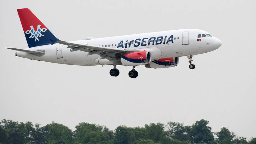 Air Serbia, Srđan Ilić