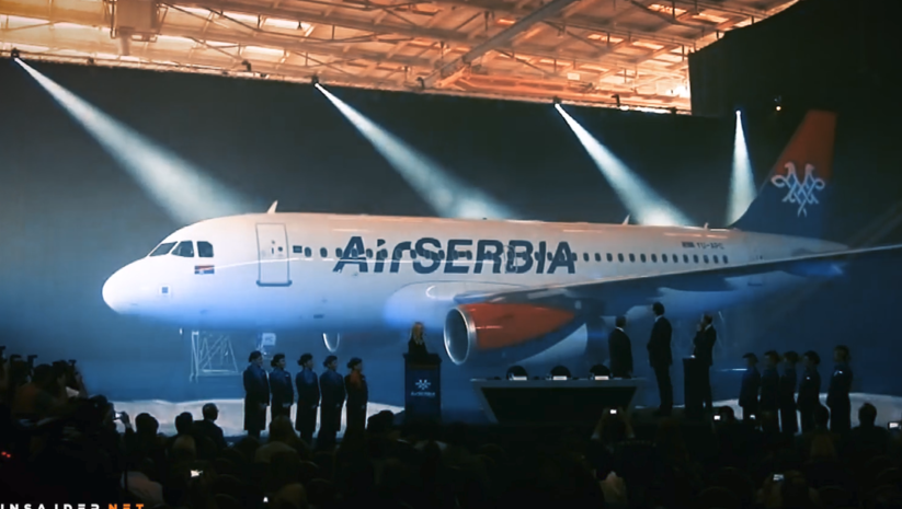 Insajder: Air Serbia