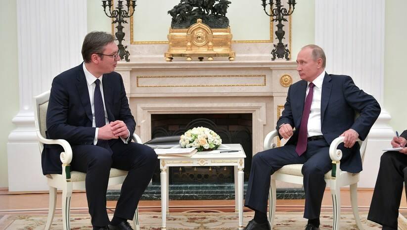 kremlin.ru: Aleksandar Vučić i Vladimir Putin