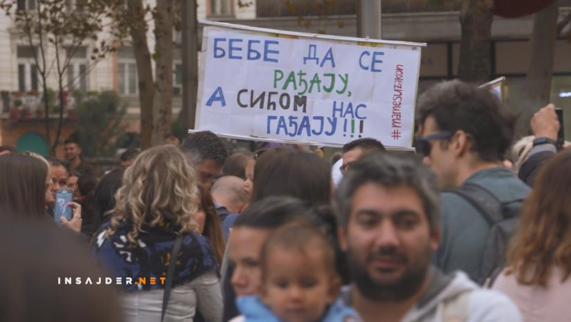 Insajder: Protest Mame su zakon