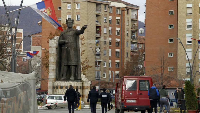 Kosovska Mitrovica Foto: BETAPHOTO/SASA DJORDJEVIC