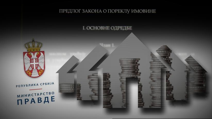 Predlog zakona o poreklu imovine, ilustracija