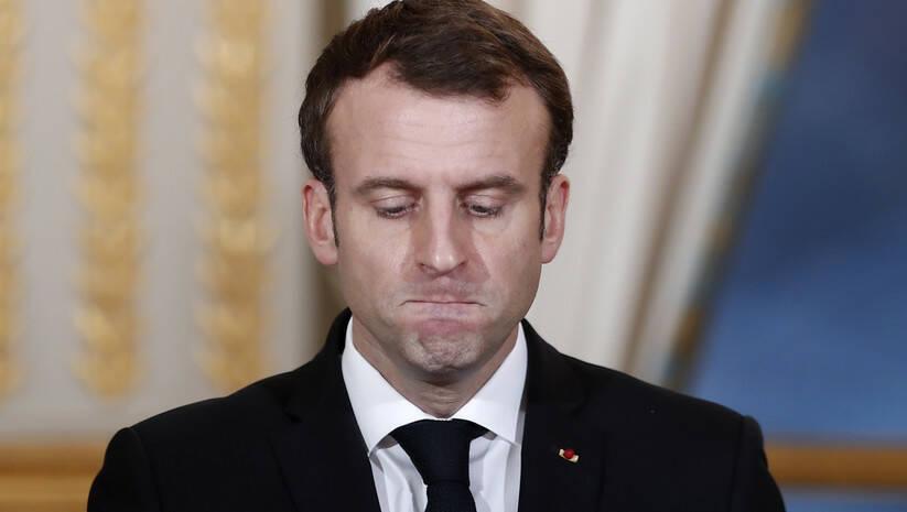 Beta/ Benoit Tessier: Francuski predsednik Emanuel Makron