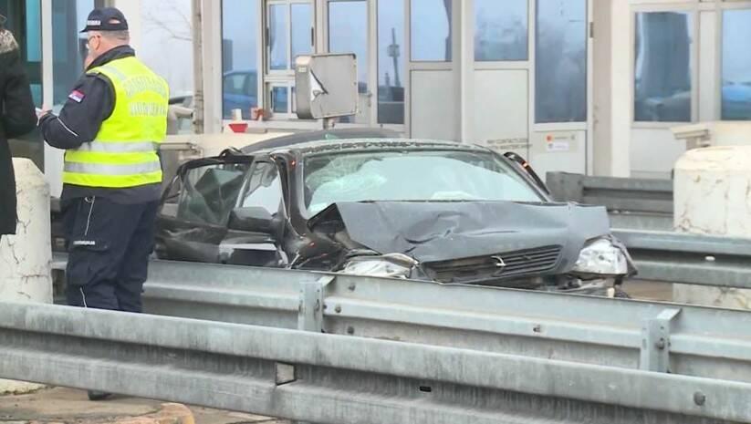 N1: Saobraćajna nesreća na naplatnoj rampi kod Doljevca