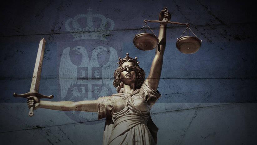 Sud, presuda, pravda, ilustracija