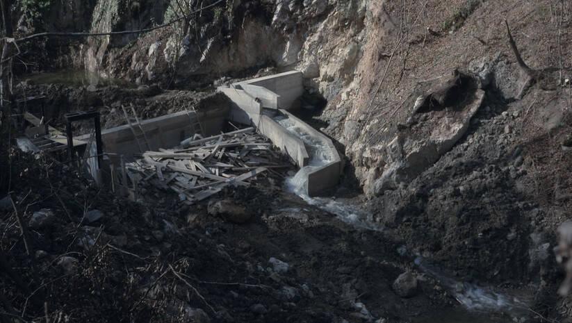 Mini hidroelektrane ilustracija