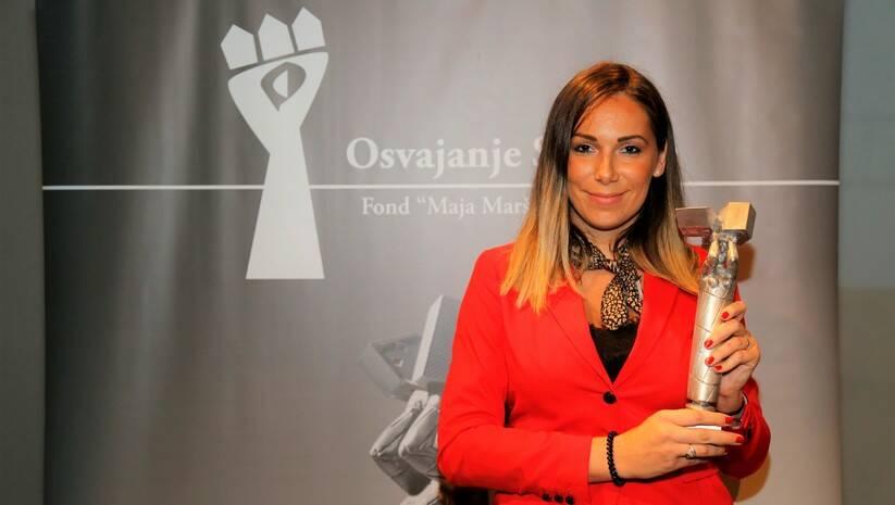 Nagrada Osvajanje slobode dodeljena Mariji Lukić Foto:Betaphoto
