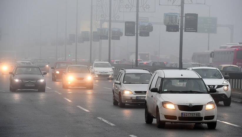 Zagađenje vazduha u Beogradu Foto: Srđan Ilić