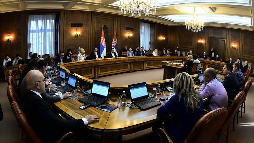 Sednica Vlade, Vlada Srbije Foto: Srđan Ilić