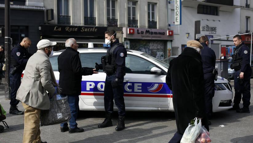 Ilustracija, francuska policija / AP Photo/Thibault Camus