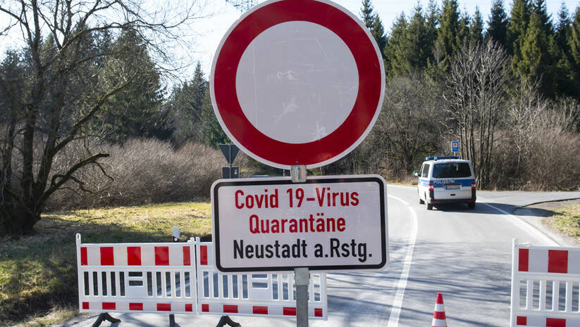 Jedan od karantina za zaražene koronavirusom u Nemačkoj Foto: AP Photo/Jens Meyer/Betaphoto
