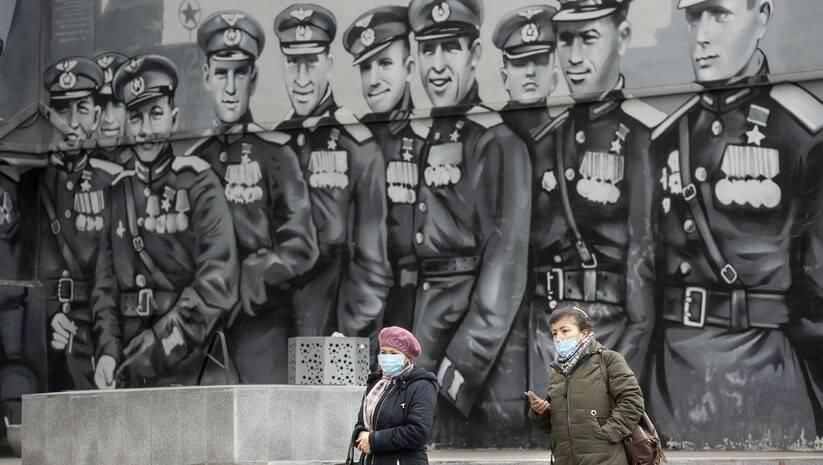 Svakodnevni život u Rusiji tokom pandemije koronavirusa Foto: Alexander Zemlianichenko/Betaphoto