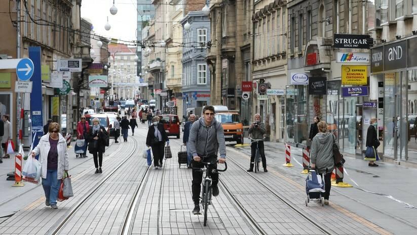 Admir BULJUBASIC: Šetnja u centru Zagreba FOTO: Admir BULJUBASIC
