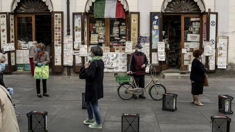 Italija, koronavirus, foto: Beta/Marco Alpozzi/LaPresse via AP