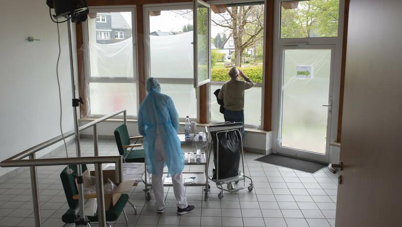 Jens Meyer: Koronavirus, Nemačka